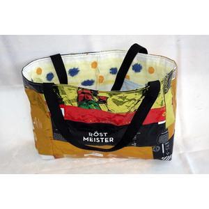 Upcycling Einkaufstasche - Handarbeit