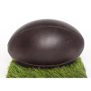 Rugby Ball Echt Rindsleder im Vintage Look inkl. Lederpflege