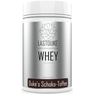 LASTDUKE Whey Protein Schoko-Toffee 1000g lastduke Whey Konzentrat Lastduke Premium Protein