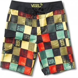 Vans Frother Boardshorts - rasta