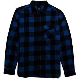 Etnies Axel Flannel Hemd - blue/black