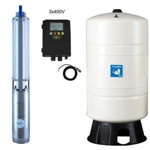 Hauswasserwerk mit Druckschalter PM/Fr 4/18-Puura M931-D 400V