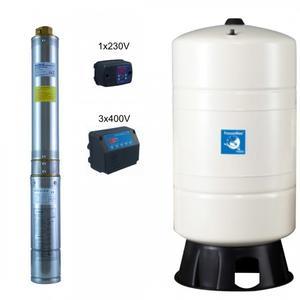 Hauswasserwerk mit Druckschalter Puura 2/10-Coelbo 230V