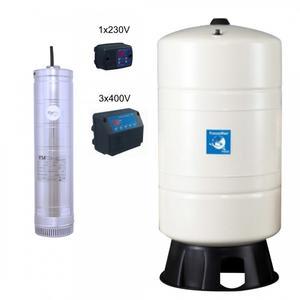 Hauswasserwerk mit Druckschalter FROG 3/12-Coelbo