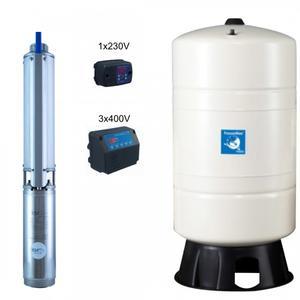Hauswasserwerk mit Druckschalter PM/Fr 2/14-Coelbo