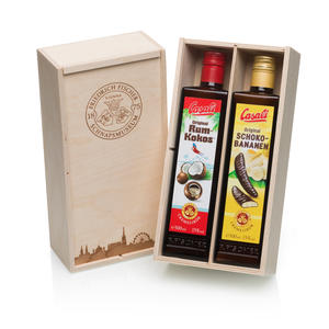 Cremelikörset Rum-Kokos & Schoko-Banane