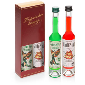 Set Absinth Grüne Fee und Chili Shot