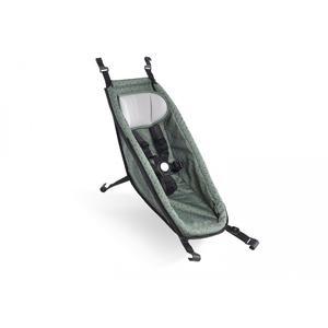 Croozer Babysitz 2020 für Fahrradanhänger ab 2014 Jungle green/black