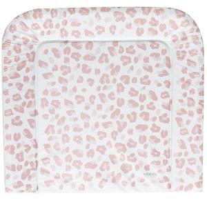 bébé-jou Wickelauflage 72x77 cm Leopard pink