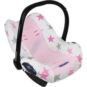 Xplorys Dooky Babyschalenbezug Pink Stars