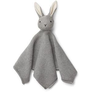 Liewood Milo Schmusetuch Rabbit grey melange