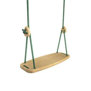 "Lillagunga Kinderschaukel ""Classic"" Eiche Green L 2.8 - 3.8 m"