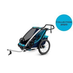 Thule Chariot Cross 1 Fahrradanhänger Kollektion 2020 Blue