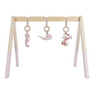 Little Dutch Spieltrapez mit Spielzeug Ocean Pink