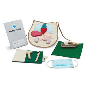 PlanToys Holzspielzeug Sets für fantasievolles Spielen Chirurgie Set
