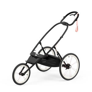 Cybex Avi All Terrain Jogger-Buggy Rahmen - 2021 Black with Pink Details
