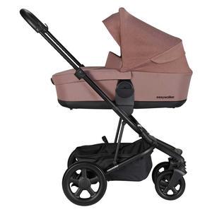 Easywalker Harvey 2 Kinderwagen 3 in 1 Set mit Cybex Babyschale Desert Pink Soho Grey