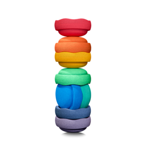 Stapelstein Rainbow Great 8 Stk.