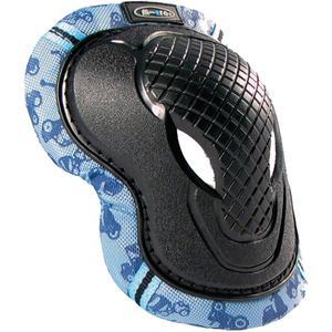 Micro Knie- und Ellenbogenschoner Blau S