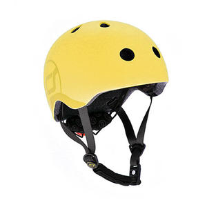 Scoot & Ride Kinderhelm S - M Lemon