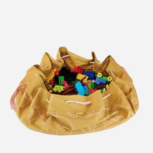 KAOS Samlesak Spielzeugsack / Spielmatte Mustard