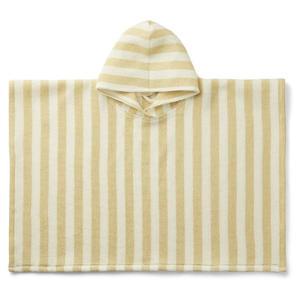 Liewood Paco Kinderponcho 5-6 Jahre Stripe: wheat yellow/creme