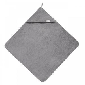 Koeka Kapuzenhandtuch Dijon organic steel grey