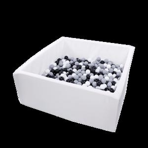 Misioo Bällebad Active 110x110x50 Weiß