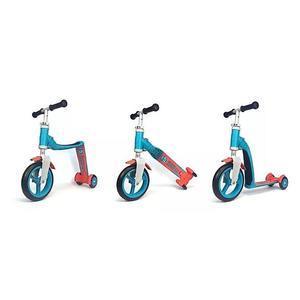 Scoot & Ride Highwaybaby+ 2in1 Laufrad & Kinderroller blue/red