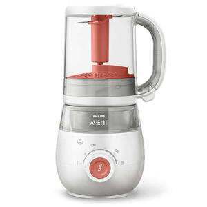 Philips Avent 4-in-1 Dampfgarer & Mixer (inkl. Aufbewahrungsbecher 240 ml) SCF881/01