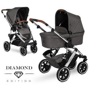 ABC Design Salsa 4 Air Kombikinderwagen 2020 Asphalt Diamond Edition