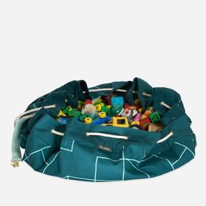 KAOS Samlesak Spielzeugsack / Spielmatte Petrol