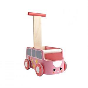 PlanToys Van Lauflernwagen Pink