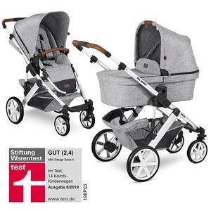 ABC Design Salsa 4 Kombikinderwagen 2020 Graphite Grey