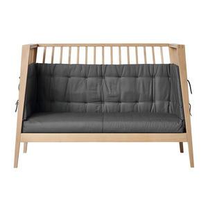 Leander Sofa-Set für Linea und Luna Babybett aus Bio-Baumwolle, 120 cm Cool Grey