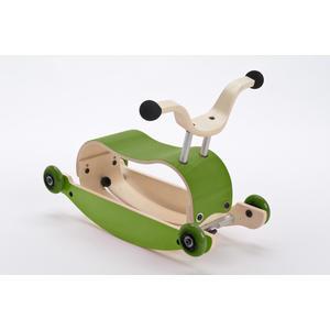 Wishbone Mini-Flip 3in1 Rutschfahrzeug Green
