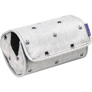 Xplorys Dooky Arm Cushion Light Grey Crowns