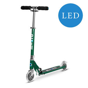 Micro Scooter Sprite mit LED Räder Forest Green