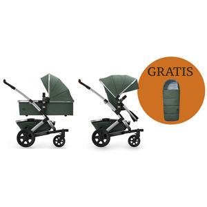 Joolz Geo 2 Kombi-Kinderwagen + Joolz Fußsack!!! Marvellous Green