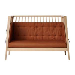 Leander Sofa-Set für Linea und Luna Babybett aus Bio-Baumwolle, 120 cm Ginger