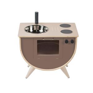 Sebra Spielküche, Höhe 50 cm Warm Grey