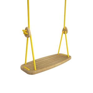 Lillagunga Kinderschaukel Classic Eiche Yellow 2.0 - 2.8 m