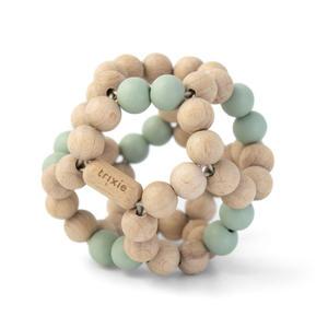 Trixie Greifling aus Holzperlen Mint