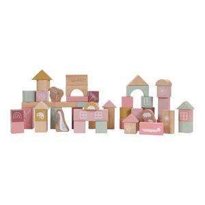 Little Dutch Holzbauklötze inkl. Box Pink
