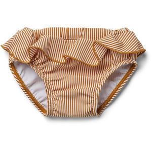 Liewood Elise Baby Badehose Kollektion 2021 80/86 (1/1,2 Y) Seersucker Stripes Mustard