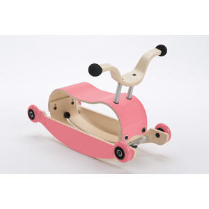 Wishbone Mini-Flip 3in1 Rutschfahrzeug Pink