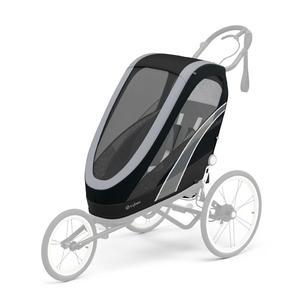 Cybex Zeno Fahrradanhänger Sitzpaket - 2021 All Black
