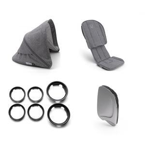 Bugaboo Ant Style Set (Box 2) Grey Melange-Grey Melange