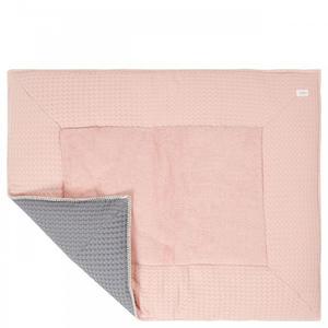 Koeka Laufgittereinlage Waffel Amsterdam 80x100 cm shadow pink/steel grey