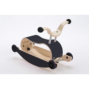 Wishbone Mini-Flip 3in1 Rutschfahrzeug Black